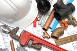Plumbing service around Collegeville PA by S&R Plumbing.