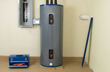 Water heater plumbing by S&R Plumbing